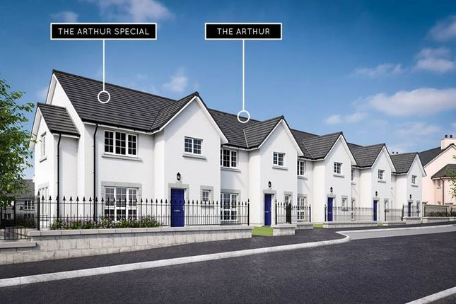 "Thumbnail Terraced house for sale in ""The Arthur"" at Danestone, Aberdeen"