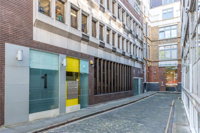 Exterior of St John's Place, Clerkenwell, London EC1M