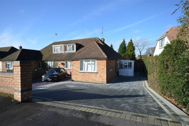 Thumbnail Semi-detached bungalow for sale in Wharf Road, Frimley Green, Camberley, Surrey