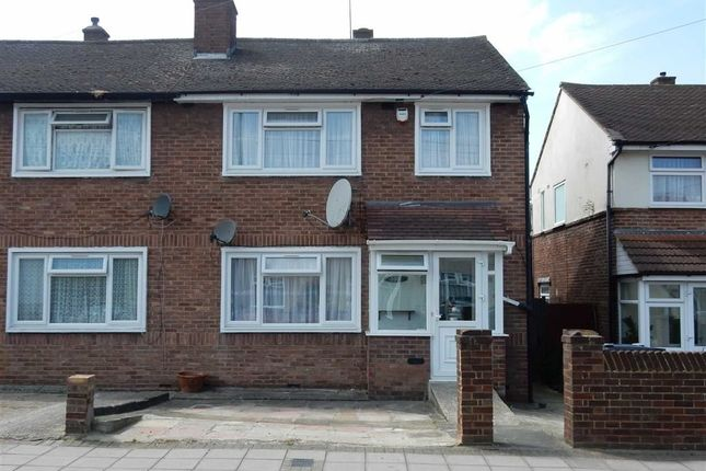 Thumbnail End terrace house for sale in Allenby Road, Southall, Middlesex
