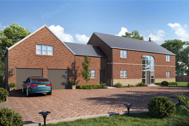 Thumbnail Detached house for sale in The Hardwicks, Melton Road, Shangton, Leicester