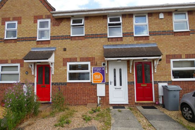 Thumbnail Terraced house to rent in Speedwell Court, Deeping St James, Peterborough, Cambridgeshire