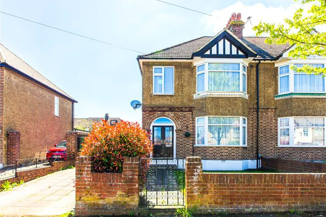 Thumbnail End terrace house for sale in Allison Avenue, Darland, Gillingham, Kent
