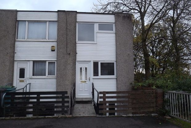 Thumbnail End terrace house to rent in Millcroft Road, Cumbernauld, Glasgow