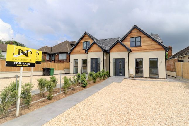 Thumbnail Semi-detached house for sale in Inkerman Drive, Hazlemere, High Wycombe, Buckinghamshire