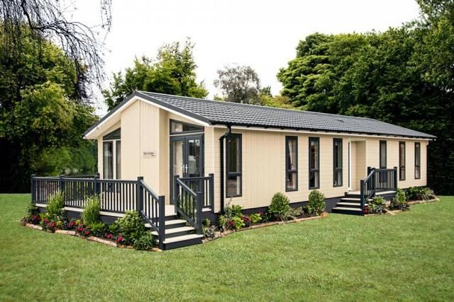 Thumbnail Mobile/park home for sale in Wolds Retreat, Caistor