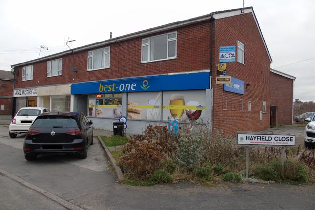 Thumbnail Retail premises to let in Hayfield Close, Belper
