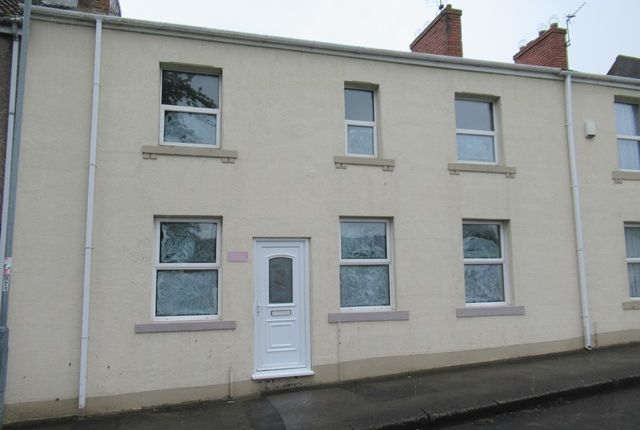 Thumbnail Terraced house to rent in Halfmoon Lane, Spennymoor