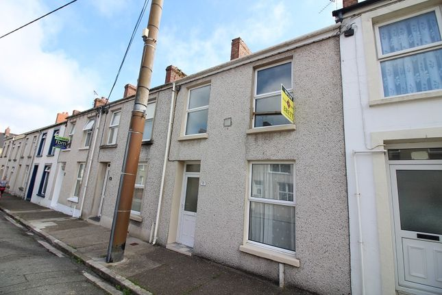 Thumbnail Terraced house to rent in Dewsland Street, Milford Haven