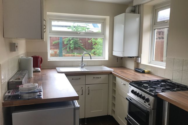 Thumbnail End terrace house to rent in Newton Road, Bletchley