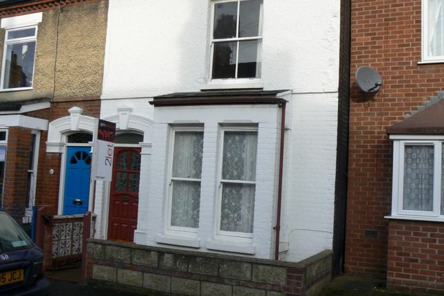 Thumbnail Terraced house to rent in Neville Street, Norwich