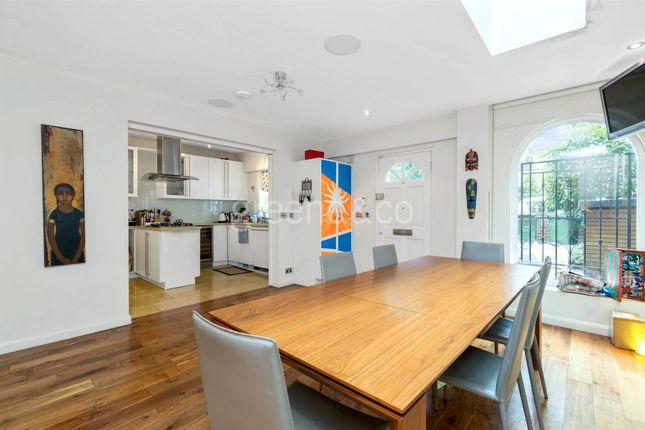 Thumbnail End terrace house for sale in Fairfax Road, South Hampstead, London