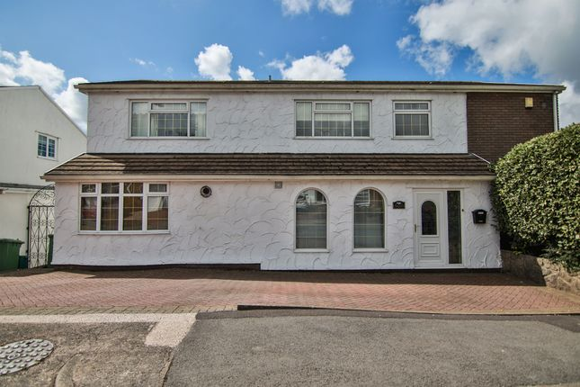 Thumbnail Detached house for sale in Pinewood Hill, Talbot Green, Pontyclun
