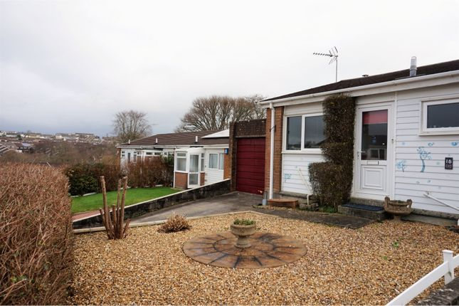Thumbnail Bungalow for sale in Sunningdale Road, Saltash