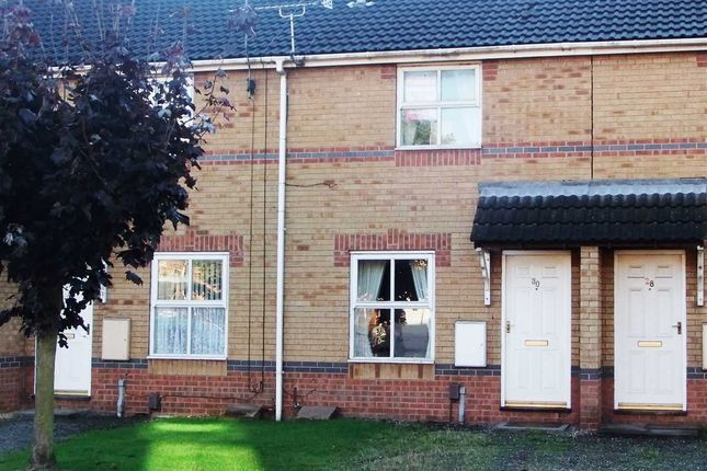 Thumbnail Town house to rent in Bluebell Close, Scunthorpe