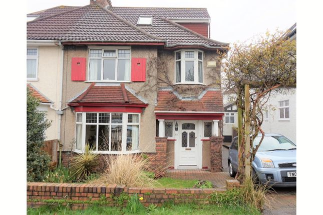 Thumbnail Semi-detached house for sale in Rockside Drive, Henleaze