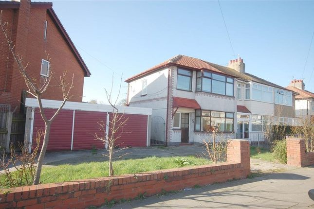 Thumbnail Semi-detached house to rent in Luton Road, Thornton-Cleveleys