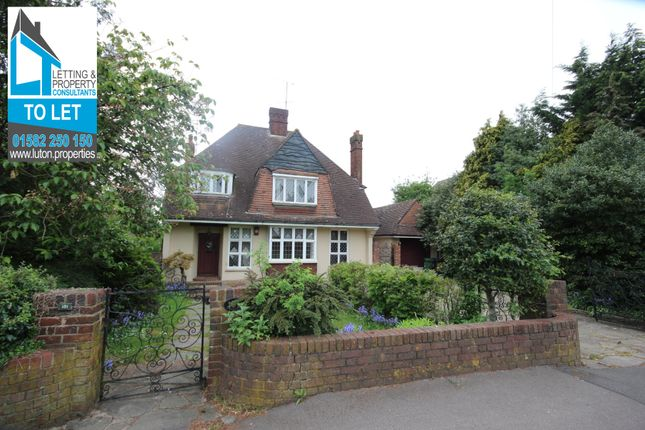Thumbnail Detached house to rent in Old Bedford Road, Luton, Bedfordshire LU2, Luton