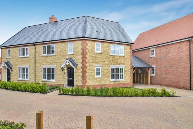 Thumbnail Semi-detached house for sale in Marsh Road, Ambrosden, Bicester