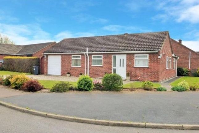 Thumbnail Detached bungalow for sale in Swaifield Rise North, North Walsham