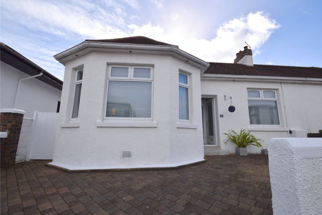 Thumbnail Semi-detached bungalow for sale in Newdykes Road, Prestwick, South Ayrshire