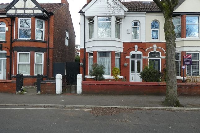 Semi-detached house for sale in Auburn Road, Old Trafford, Manchester.