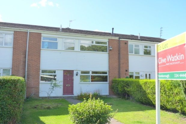Thumbnail Terraced house to rent in Millersdale Close, Eastham, Wirral