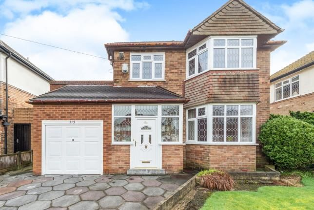 Thumbnail Detached house for sale in Childwall Park Avenue, Childwall, Liverpool, Merseyside
