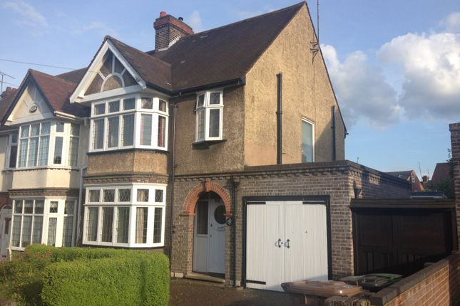 Thumbnail Semi-detached house to rent in Montrose Avenue, Luton