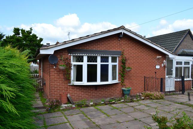 Thumbnail Detached bungalow to rent in School Lane, Market Drayton, Shropshire