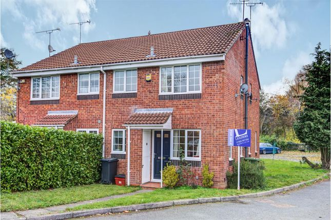 Thumbnail Semi-detached house for sale in Ebourne Close, Kenilworth