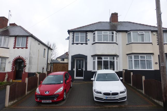 Thumbnail Semi-detached house for sale in Crabourne Road, Dudley Wood, Dudley