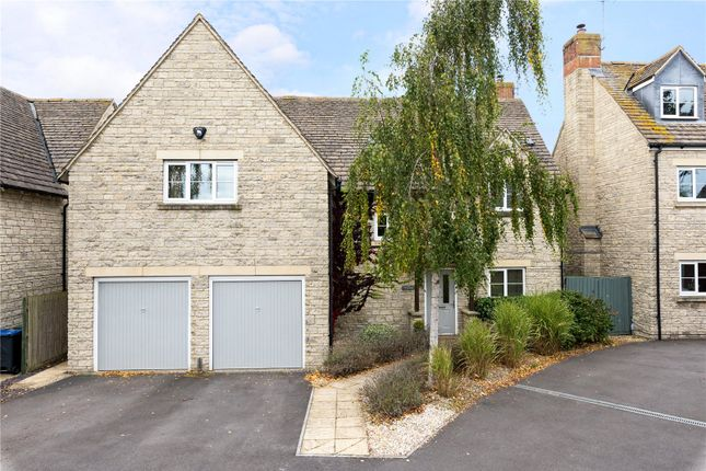 Thumbnail Detached house for sale in Croft Close, Latton, Wiltshire