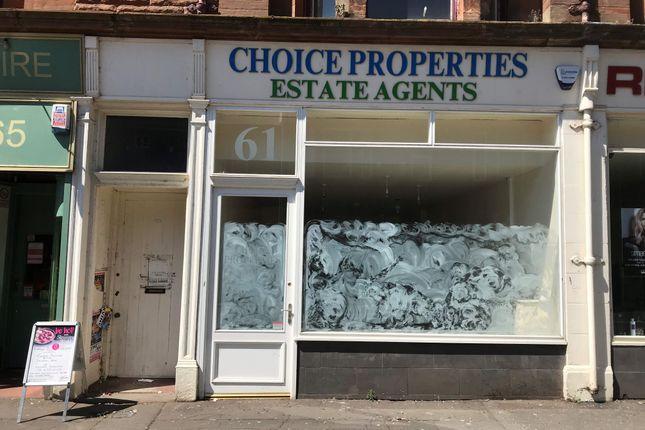 Thumbnail Retail premises to let in 61 Titchfield Street, Kilmarnock