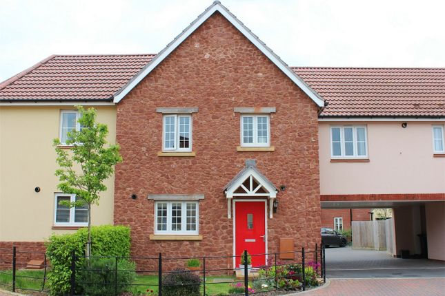 Thumbnail End terrace house for sale in Canal View, Bathpool, Taunton, Somerset