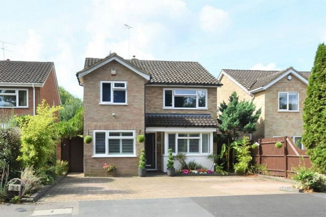 Thumbnail Detached house for sale in Wharfenden Way, Frimley Green, Camberley, Surrey