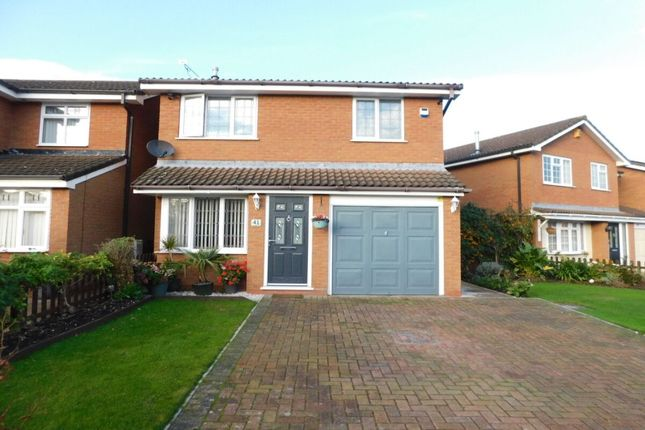 Thumbnail Detached house for sale in Farmleigh Drive, Crewe