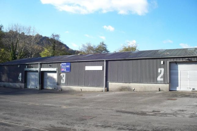 Industrial to let in Pontcynon Industrial Estate, Abercynon, Mountain Ash