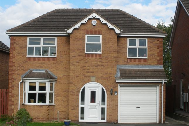 Thumbnail Detached house to rent in Acorn Ridge, Walton, Chesterfield