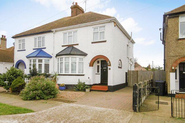 Thumbnail Semi-detached house for sale in Bognor Drive, Herne Bay, Kent