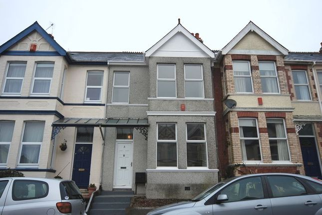 Thumbnail Terraced house to rent in Pounds Park Road, Plymouth