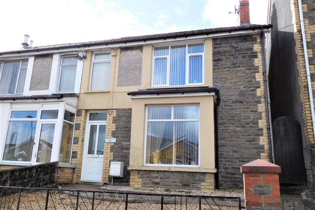 Thumbnail Semi-detached house for sale in Cardiff Road, Bargoed, Caerphilly