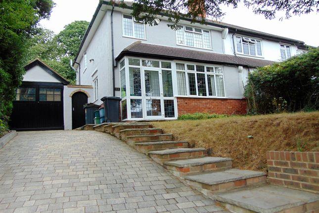 Thumbnail Semi-detached house for sale in Littleheath Road, South Croydon