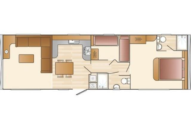 Floor Plan of Sunset View, Sandy Bay, Exmouth EX8