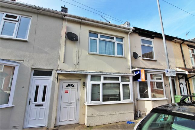 Thumbnail Terraced house to rent in King Edwards Crescent, Portsmouth