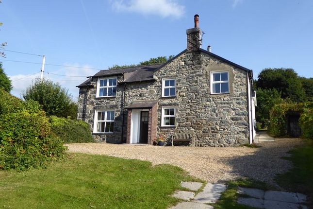 Thumbnail Detached house for sale in Sling, Tregarth, Bangor