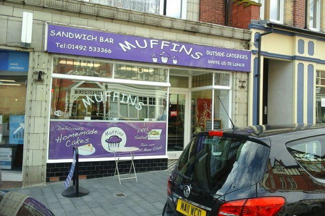 Thumbnail Restaurant/cafe for sale in Penrhyn Road, Colwyn Bay, Colwyn Bay