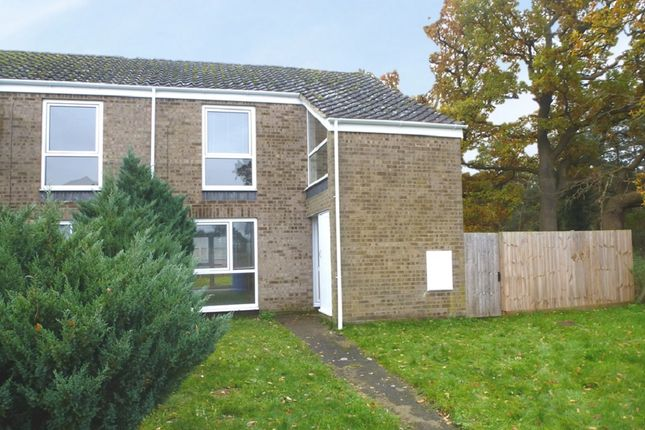 Thumbnail End terrace house for sale in Lancewood Walk, Raf Lakenheath, Brandon