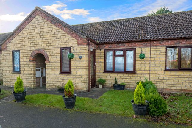 Thumbnail Terraced bungalow for sale in Pullman Close, Metheringham, Lincoln