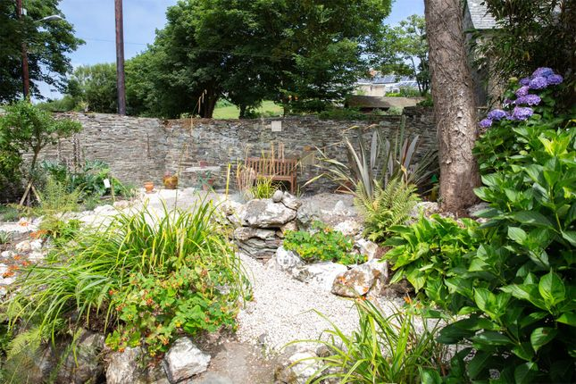 Cottage Garden of Vicarage Hill, Tintagel, Cornwall PL34